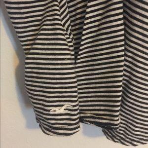 Hollister Tops - Hollister stripped sleeveless shirt medium
